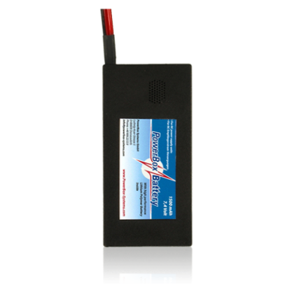 Powerbox Battery 1500 7.4v LiPo With JR 1510