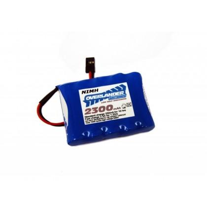Overlander Nimh Battery Pack LSD AA 2300mah 6v Receiver Flat Premium Sport 2382