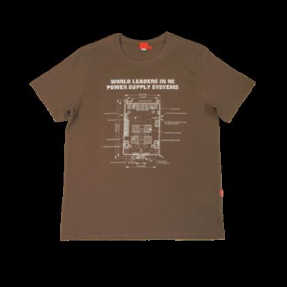 Powerbox T-Shirt - Light Brown XX-Large