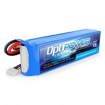 Optipower LiPo Battery 3300mAh 4S 50C OPR33004S50
