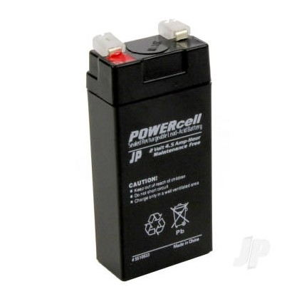 2V 4.5Ah Powercell Gel Battery 5510033