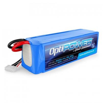 Optipower LiPo Battery 5000mAh 5S 25C OPR50005S