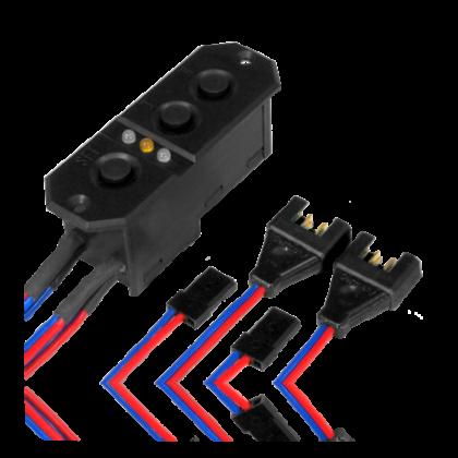 PowerBox Sensor Switch 7.4v MPX/JR 6321 with MPX & JR Connectors