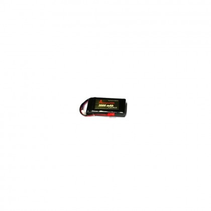 Arrowind LiPo Receiver Battery 3000mAh 7.4v RX-30002S1P