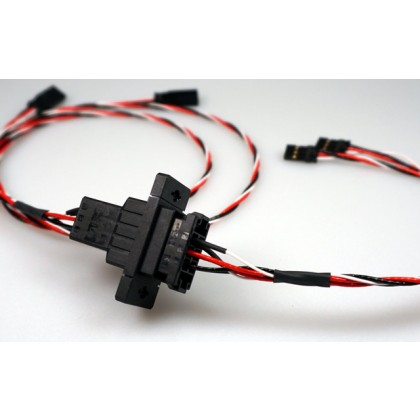 12 Pin Click Connect Multipin Connectors Ideal for Wing or Stab Wiring from IRC Emcotec A85250 / 2862