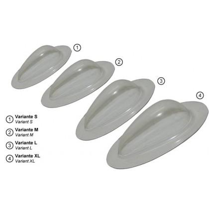 Emcotec Cover Cap Drop-Shaped Paintable L (32mm) OPT4430