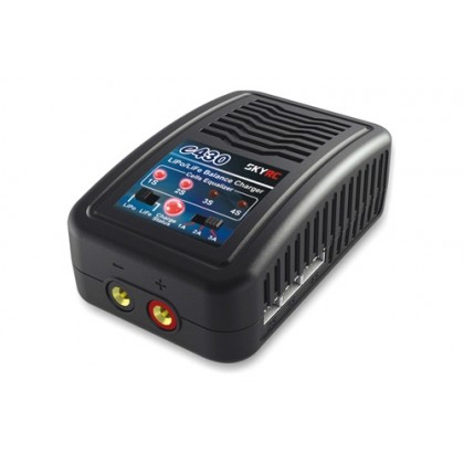 SkyRC E430 Lipo Charger AC 3A 30W 2-4s SK-100107-04   SkyRC e430 Charger is an economic, high-quality 100-240V AC balance charger, designed for charging LiPo and LiFe batteries from 2-4 cells in balance mode. The circuit power is 30W and max charge curren