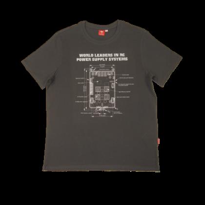 Powerbox T-Shirt - Anthracite Medium