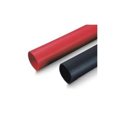 "1/4"" / 6.4mm Heat Shrink Tubing 1 Metre - Black"