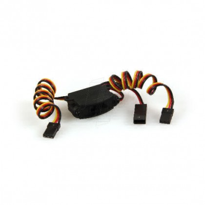 HITEC S H/D SWITCH HARNESS + CHARGE LEAD 22954407