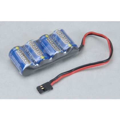 Intellect 4.8v 1600mAh Rx Pk Flat Ni-MH O-4NM1600INTSF