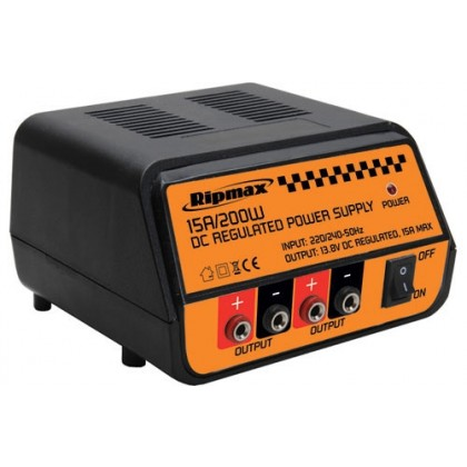 Ripmax Power Supply 13.8v 15A 200W	O-IP2001