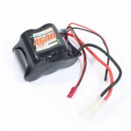 Voltz 4600mAH 6.0V Receiver Sub-C Hump Pack with BEC/JR Plug VZ0131 5055323941412