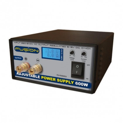 Fusion 600W Adjustable Power Supply O-FS-PS600ADJ