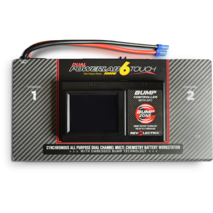 CellPro PowerLab 6 Touch Dual Output Multi-Chemistry 2000W Battery Workstation LC06S40ATDIC-MC