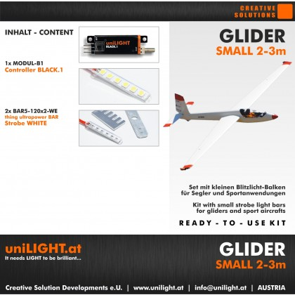 UniLight Glider Small Lighting Set