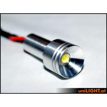 UniLight 4W Aluminium Spotlight 15mm White