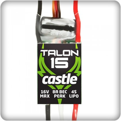 Castle Creations Talon 15a Brushless ESC 010-0129-00