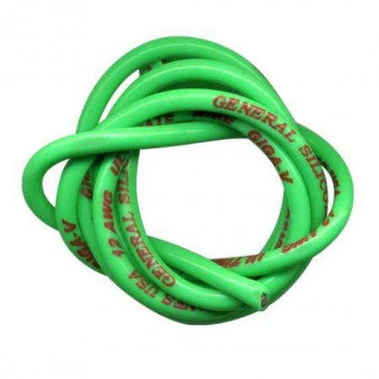 TrickBits 12AWG Fluorescent Green Silicone Wire (2.5ft) TB2074FG