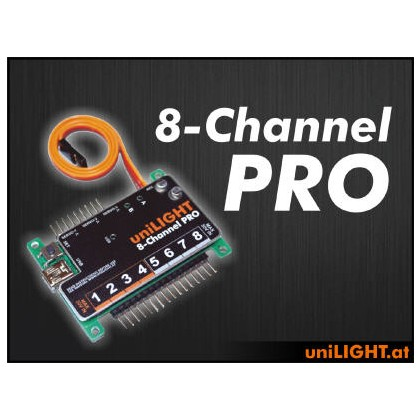 UniLight Controller 8 Channel Pro Module