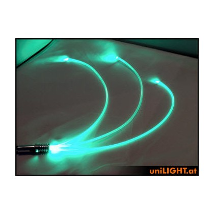 UniLight 4W Glow Fiber 4mm Green