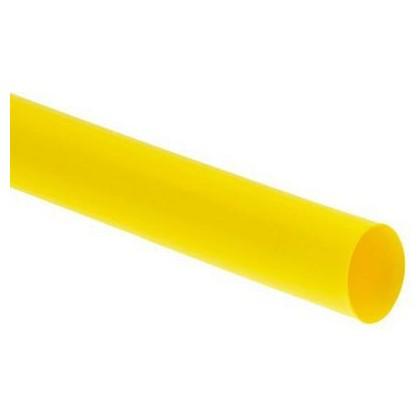 "1/4"" / 6.4mm Heat Shrink Tubing 1 Metre - Yellow"