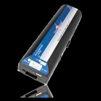 PowerPak 5.0 X 2 Pro 5000mAh 7.4v Li-Ion Powerbox Battery 2555