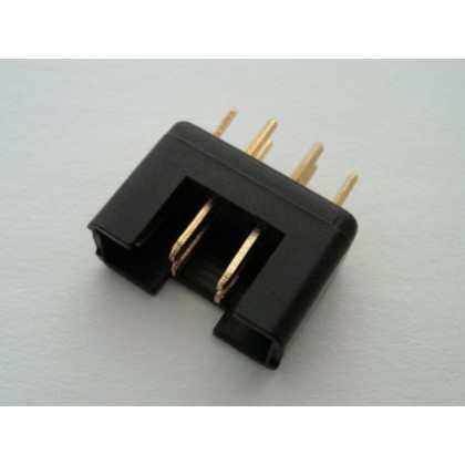 MPX Connector Black Male high current