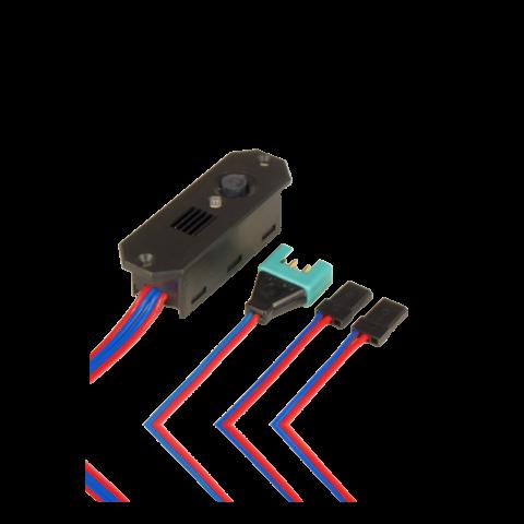 PowerBox DigiSwitch Electronic Switch / Linear Regulator 7.4V MPX/JR+JR 6421