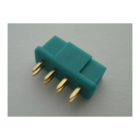 MPX 8 Pin Connector Green - Female