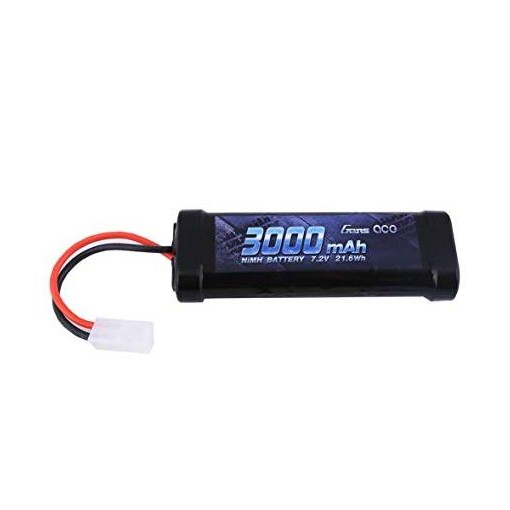 Gens Ace NiMH 7.2V 3000mAh with Tamiya GC6N3000-TM
