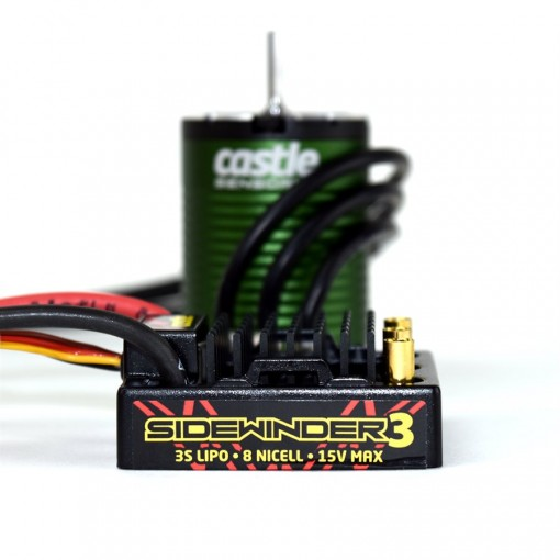 Castle Creations SV3 WATERPROOF 1:10TH 12V ESC 1406-6900 SENSORED COMBO CC010-0115-07