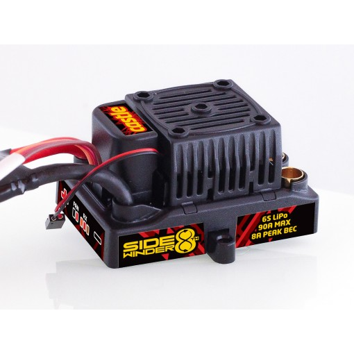 Castle Creations SIDEWINDER 8TH ESC 25.2V ESC 8A PEAK BEC WP CC010-0139-10