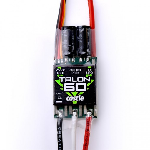 Castle Creations Talon 60 60AMP 6S MAX HD BEC CC010-0163-00