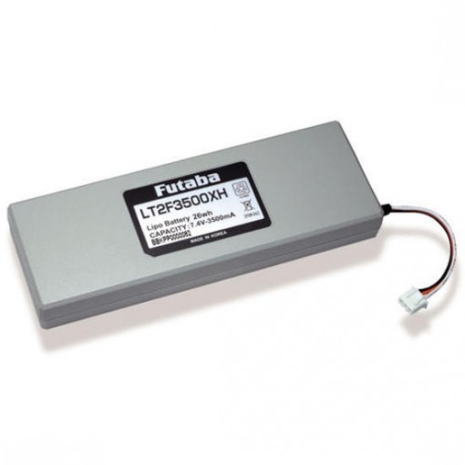 Futaba TX Battery for 18MZ & 18MZWC 7.4v 3500mAh LiPo EBA0139