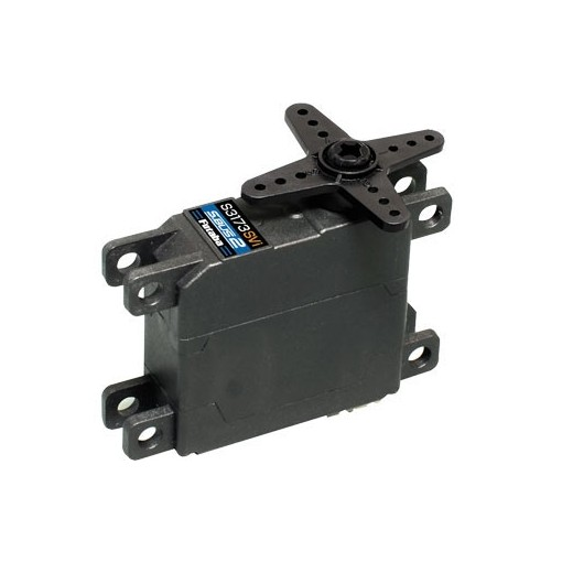 Futaba S3173SVI Servo Mini HV S-Bus2 0.16s/4.3Kg (P-S3173SVI) A high voltage S.Bus2 servo with metal gears built into a thin case that is especially suited to use in glider wings. This servo is designed to use futaba's innovative I-Connector leads. Speci