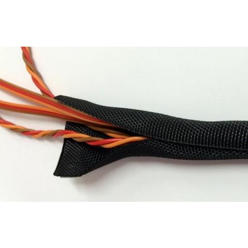 Emcotec Self closing fabric tube 9mm Diameter 5m (196.85in) Long A86076