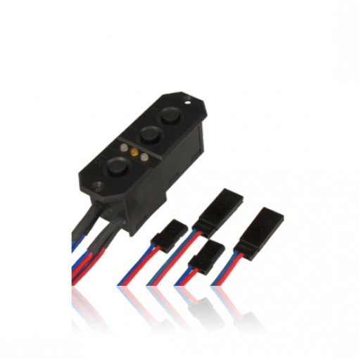 PowerBox Sensor Switch With JR Connectors 6310