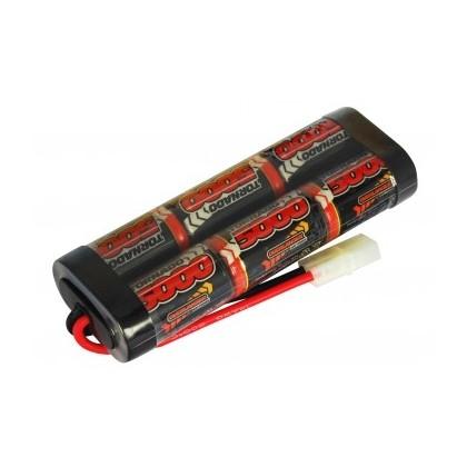 Overlander NiMH Battery Pack Sub C 5000mah 7.2v Premium Sport 1596