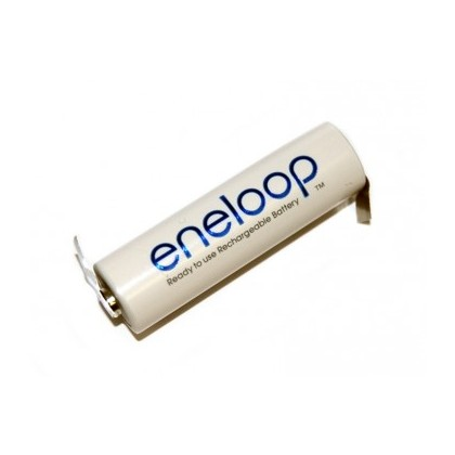 Panasonic Eneloop 2000mAh AA 1.2v Single Cell - Tagged