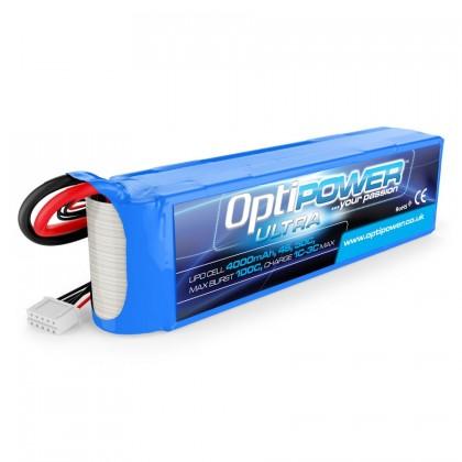 Optipower LiPo Battery 4000mAh 4S 50C OPR40004S50