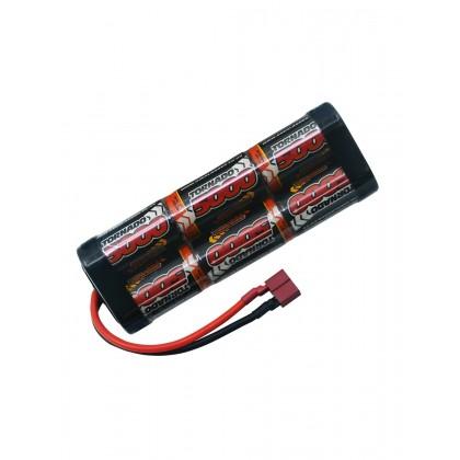 Overlander NiMH Battery Pack Sub C 5000mah 7.2v Premium Sport (Deans) 3330