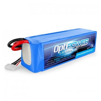 Optipower LiPo Battery 4300mAh 5S 50C OPR43005S50