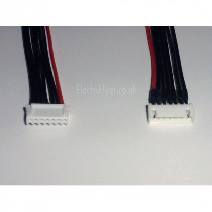 6S JST-XH Balance Lead Extension 1m 22AWG silicone wire