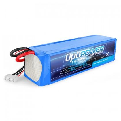 Optipower LiPo Battery 1400mAh 6S 50C OPR14006S50