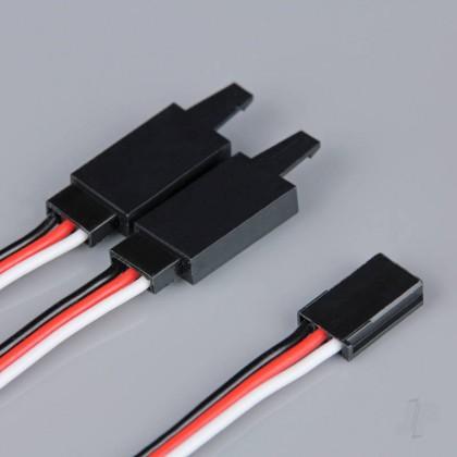 Radient Futaba HD Y Lead with Clip 150mm RDNAC010240