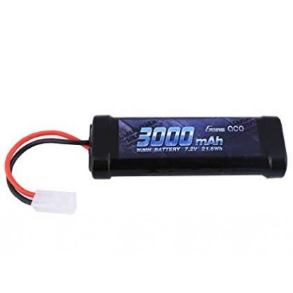 Gens Ace NiMH 7.2V 3000mAh with Tamiya GC6N3000-TM