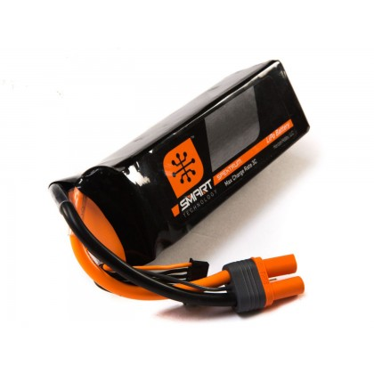Spektrum 2200mah 3S 11.1V 30C Smart LiPo IC3 SPMX22003S30