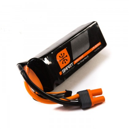 Spektrum 5000mah 6S 22.2V 30C Smart LiPo IC5 SPMX50006S30