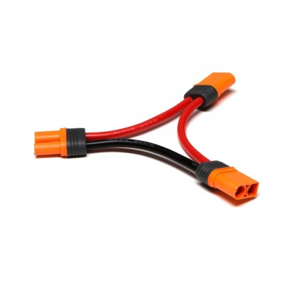 "Spektrum IC5 Battery Series Harness 4"" / 100mm  10 AWG SPMXCA506"